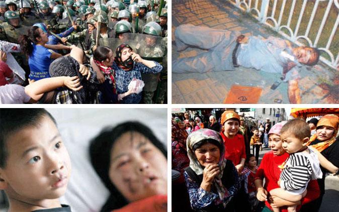 çin de uygur türklerine işkenceler ve katliamlar