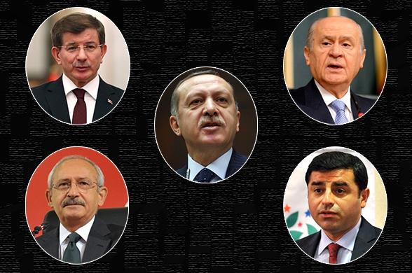 tayyip erdoğan ve siyasi liderler birarada K