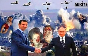Putin - Esed elele Suriye soykırımının aşamaları olan katliamlarına devam ediyorlar