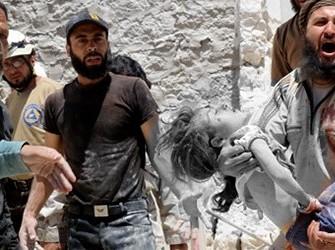Rusya desteğinde Halep soykırımı