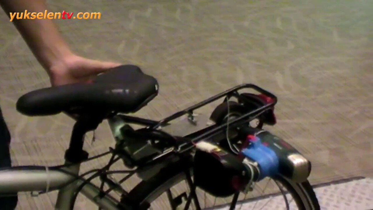 matkap takılarak bisiklet nasıl motorlu bisiklet yapılır