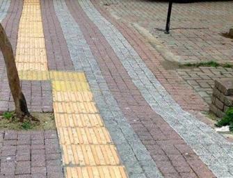 Kaldırımlardaki sarı bantların ne işe yaradığını biliyor musunuz?