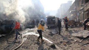 İdlib'de hastaneler bile bombalandı
