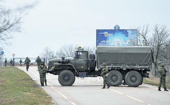 ukrayna yeni bir rus işgali ile karşı karşıya. bölge gergin