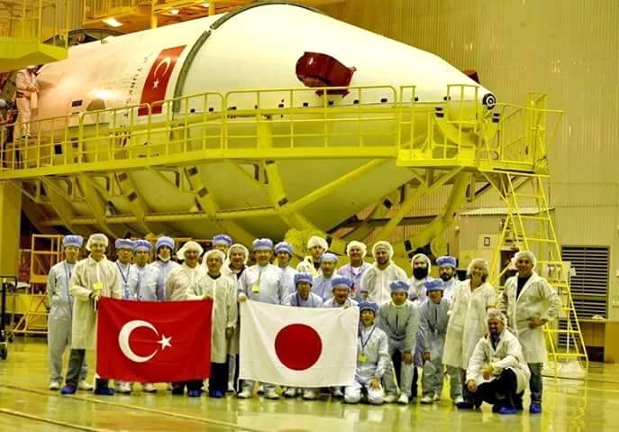 Türk - Japon ortak yapımı Türksat 4b uydusu uzaya fırlatıldı