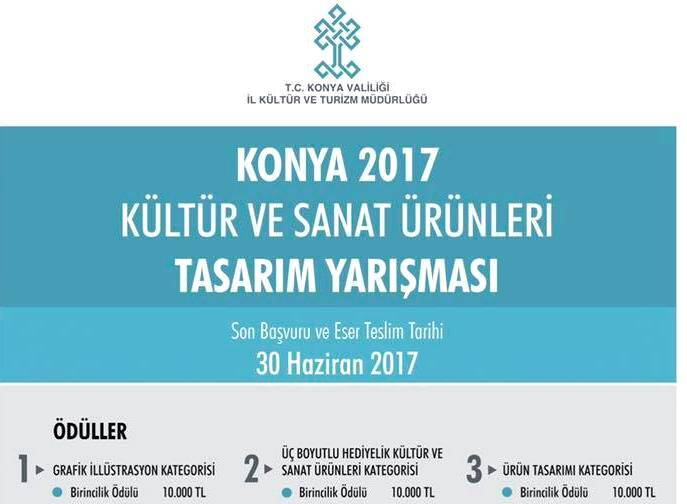 Kültürel ürün tasarım yarışması, Son başvuru 30 Haziran